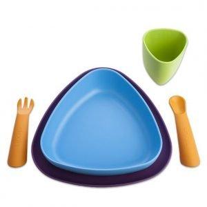 Pirmojo patiekalo gaminys iš bioplastiko