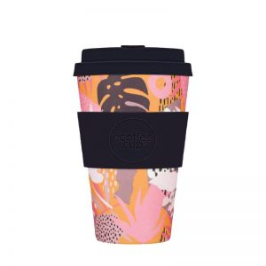 Ecoffee - Daugkartinis puodelis iš bambuko, halekulani 400ml