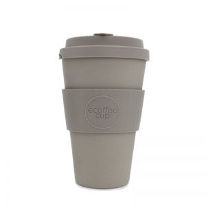 Ecoffee - Daugkartinis puodelis iš bambuko, molto grigio 400ml